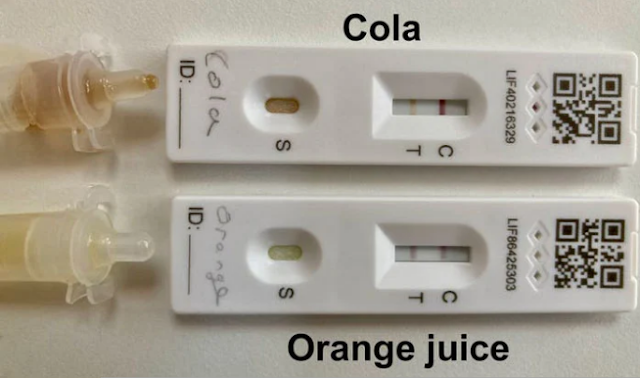 إليك كيف يستخدم الأطفال المشروبات الغازية وعصير البرتقال لتزوير نتائج إيجابية في اختبارات COVID-19