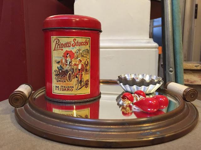 decoração vintage, loja vintage, tabuleiro déco