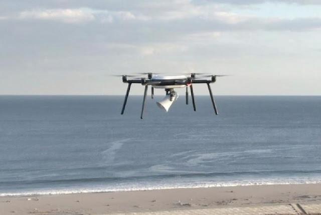 Pertama di Dunia, Jepang Uji Coba Drone Deteksi Tsunami Di Kawasan Pantai