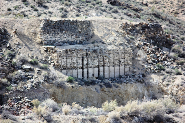 Part of the old mine works in Gold Hill, Utah