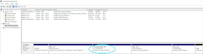 munculnya drive baru pada disk management