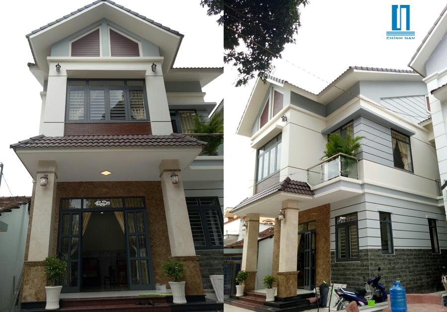 xây dựng biệt thự cô Tâm ở Biên Hòa