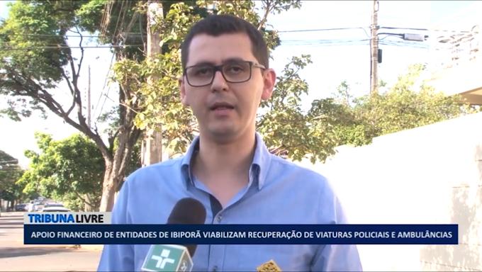 Apoio financeiro de entidades de Ibiporã viabiliza recuperação de viaturas policiais e ambulâncias