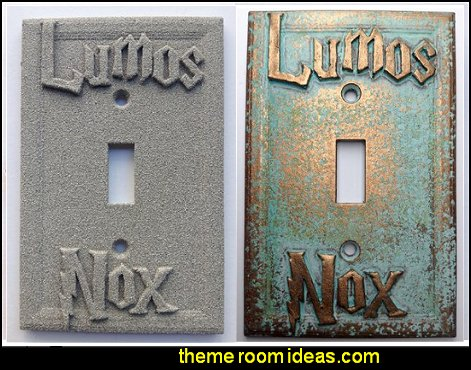 Lumos Nox  Harry Potter  Light Switch Covers