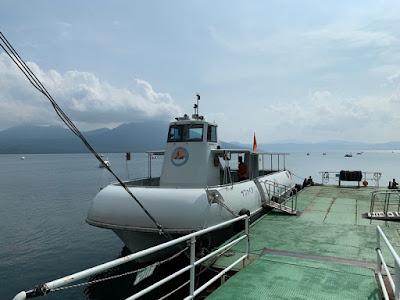 支笏湖水中遊覧船