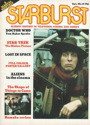 Starburst #10, Doctor Who, tom baker