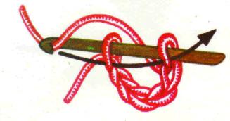 вязание крючком для начинающих: кольцо