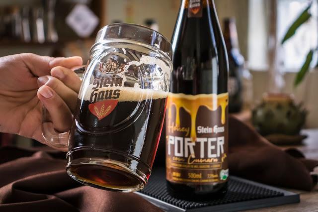 Cerveja Honey Porter com Cumaru