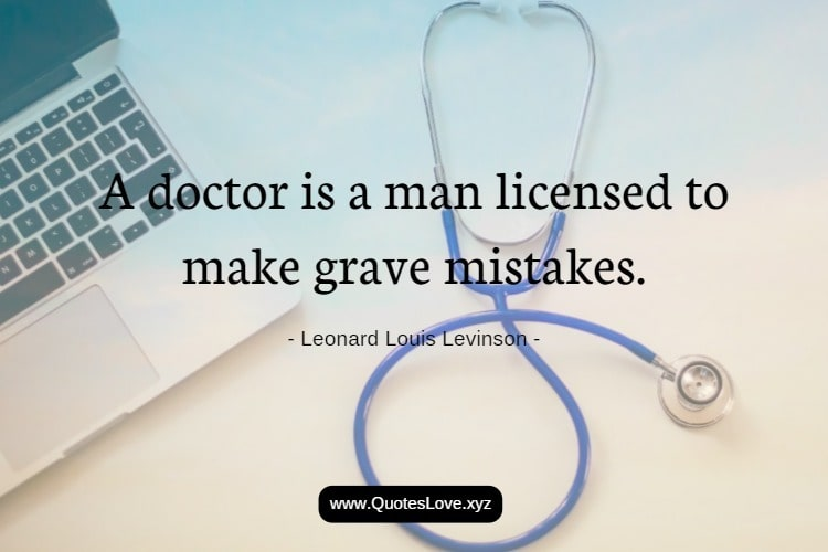 Best Quotes About Doctor