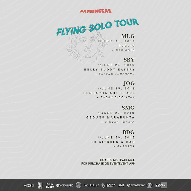 Pamungkas - Flying Solo Tour 2019