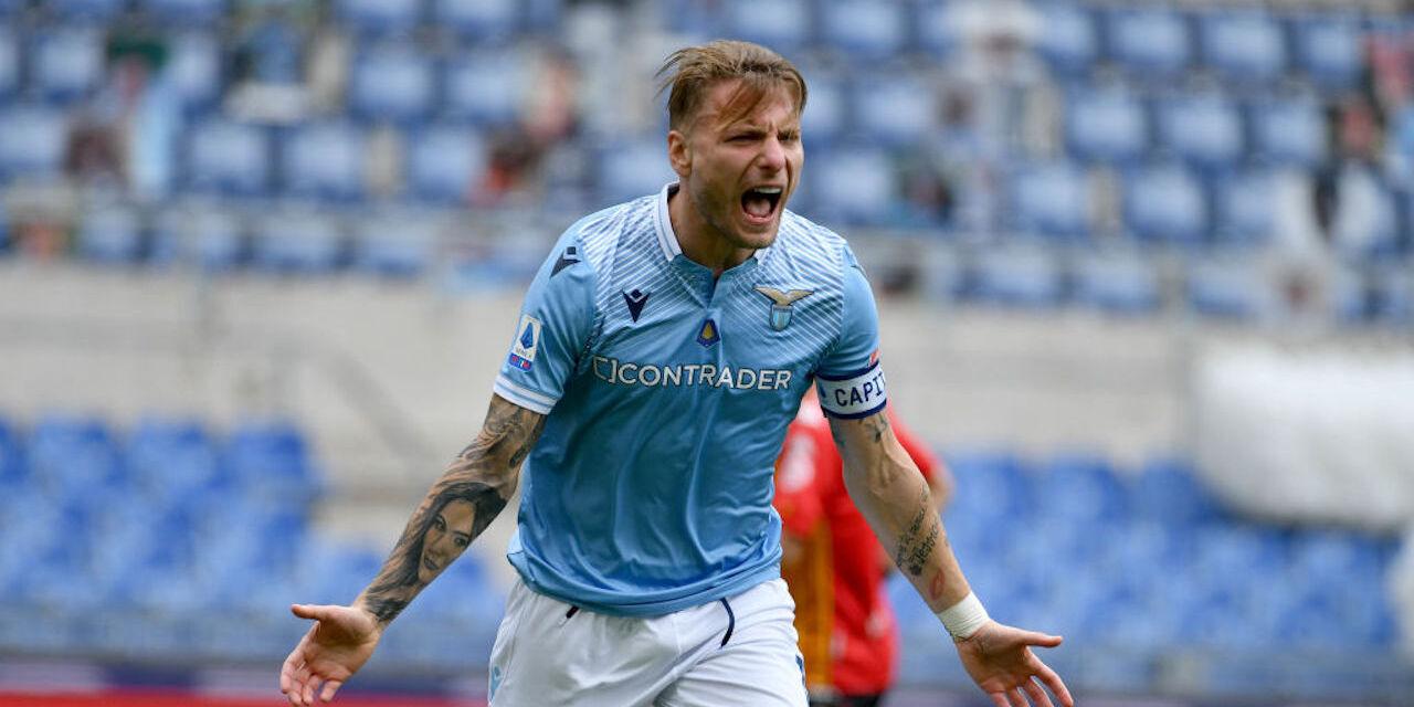Lazio forward Ciro Immobile