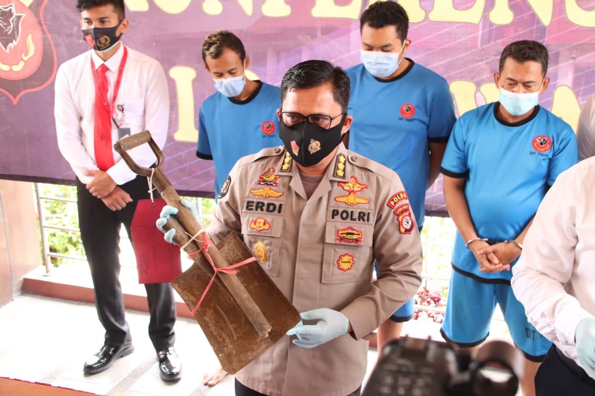 Penganiaya Polisi Terancam 5 Tahun Penjara, 4 Pelaku Saat Ini Ditahan di Bandung dan Karawang