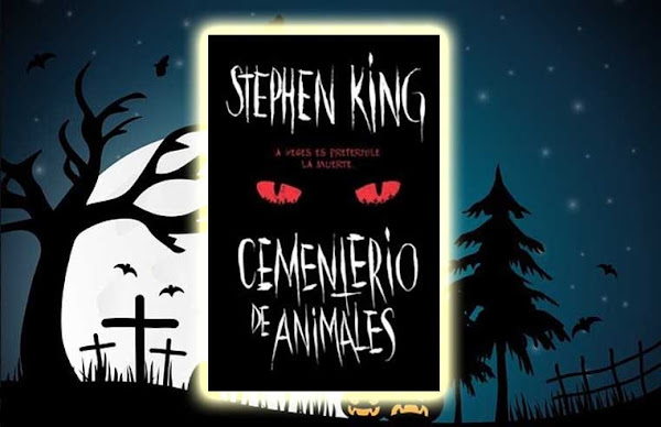 Libro cementerio de animales sobre un fondo de un cementerio