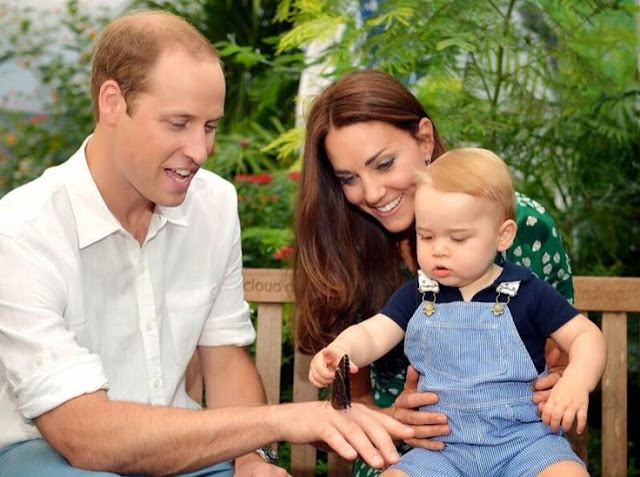 New Photos for Prince George First Birthday