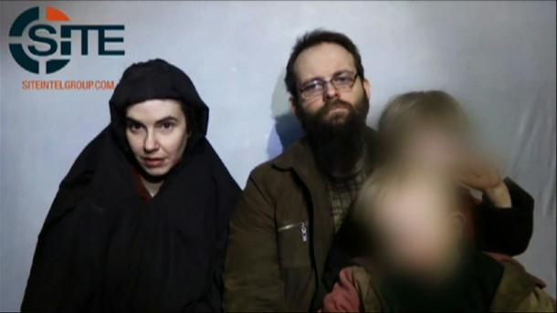 Family freed from Taliban captivity arrive in Canada