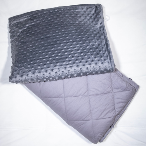 I had recently been researching weighted blankets as a sleep aid because my sleep patterns have recently been all over the place. The weighted blanket that I have been using is the Xalm Blanket which is made with weighted micro-bead technology.
