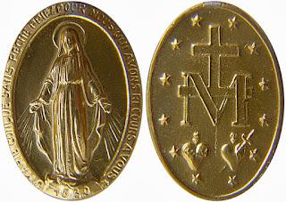 Oração da Medalha Milagrosa de Nossa Senhora das Graças
