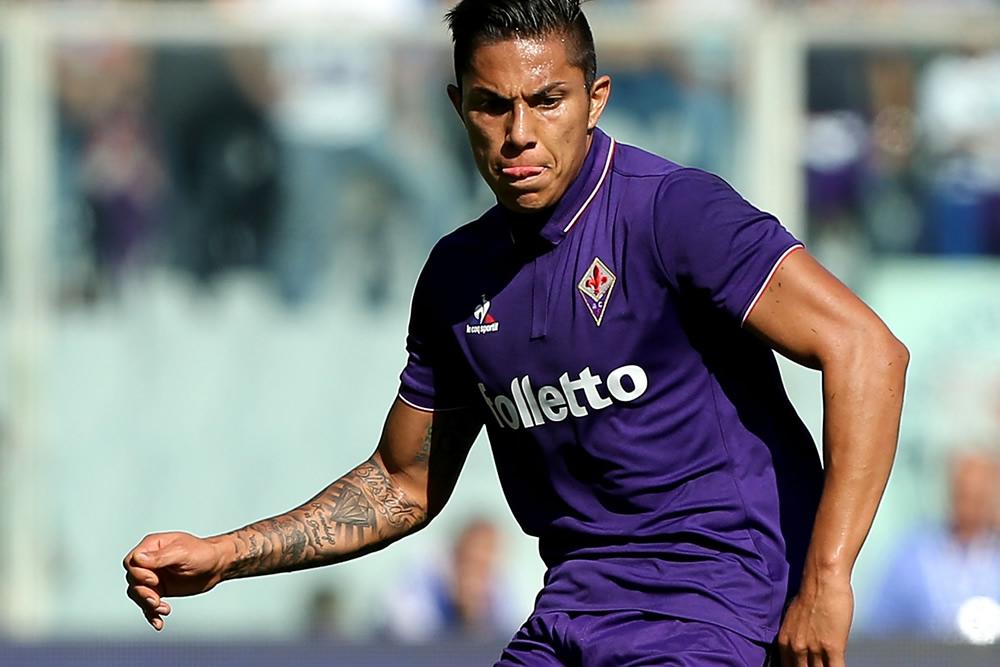 Salcedo juega con el cuadro Viola desde agosto del 2016.