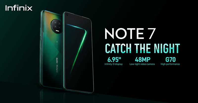 Infinix Note 7 with 6GB/128GB and 48MP cam lands in PH, priced at PHP 7,990