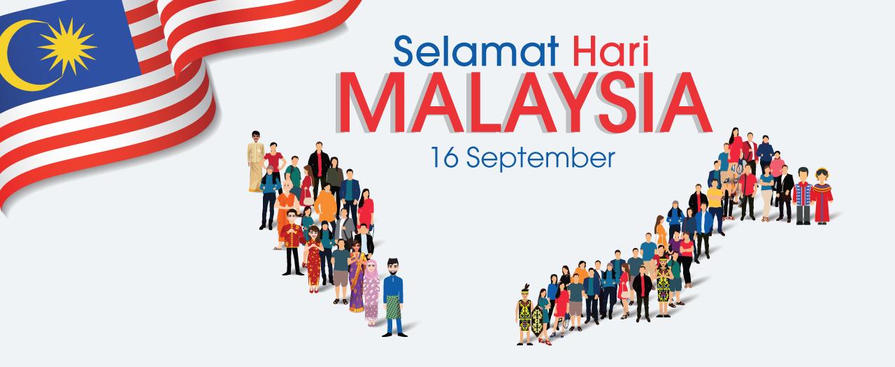 Selamat Hari Malaysia 16 September 2021