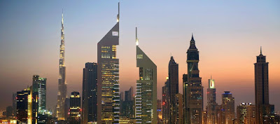 Source: Jumeirah website. Dubai city skyline.