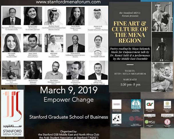 ARABOLOGY : Stanford MENA Forum on March 9: Empower Change
