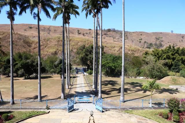 Vista da varanda da Fazenda São Luiz da Boa Sorte, no Vale do Café