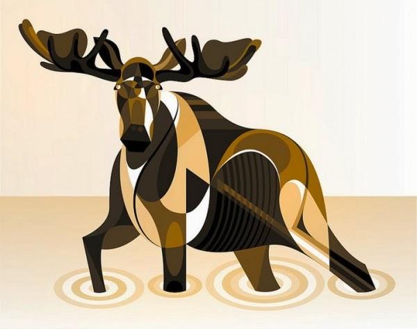 animal geometrico