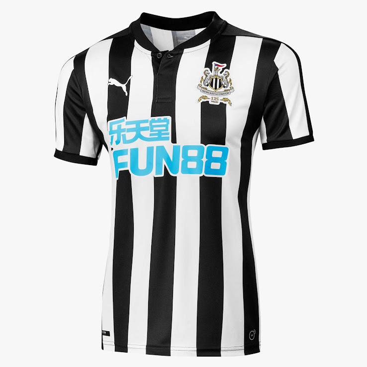 Talisman & Co.   Newcastle United 2017 Home Jersey