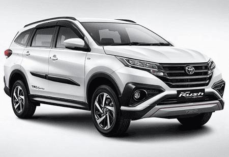 Kredit Toyota Rush 2018 Simulasi Dp 30 & 100 Juta
