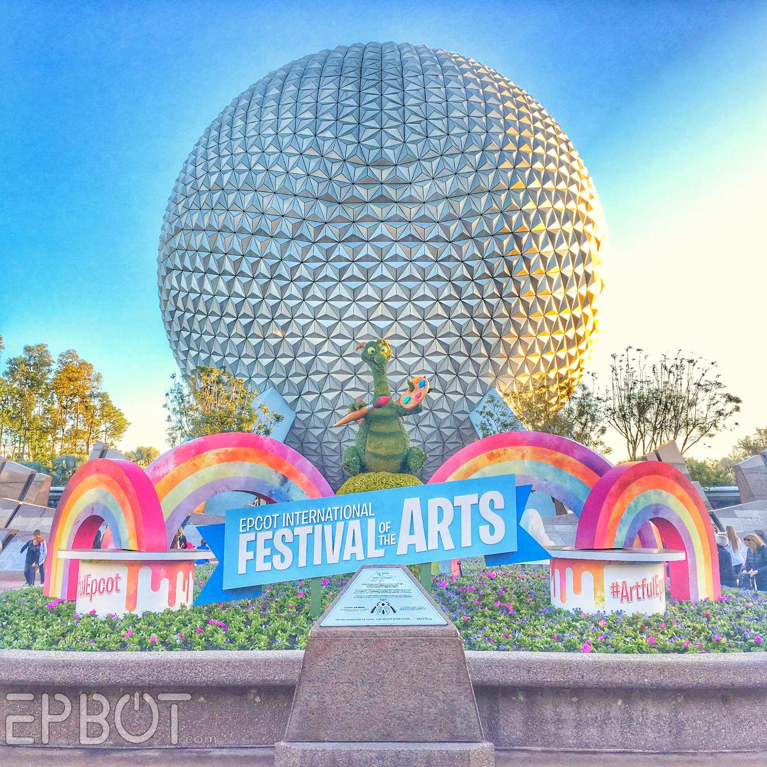 Epbot Visiting Figment Epcot S Festival Of The Arts
