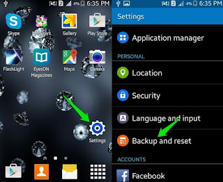 4 way simple to backup file android