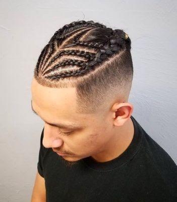 35 Modern Haircut For Men in 2020 - Undercut Cornrows