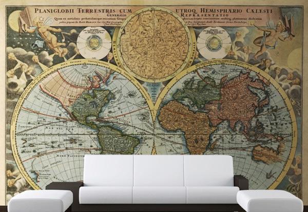 Desain Dinding Unik dengan Wallpaper Mural