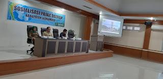 Pajak Daerah Sumbang  Rp 40 Miliar
