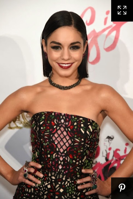 Vanessa Hudgens with the wet look featured on Addictions of a Fashion Junkie