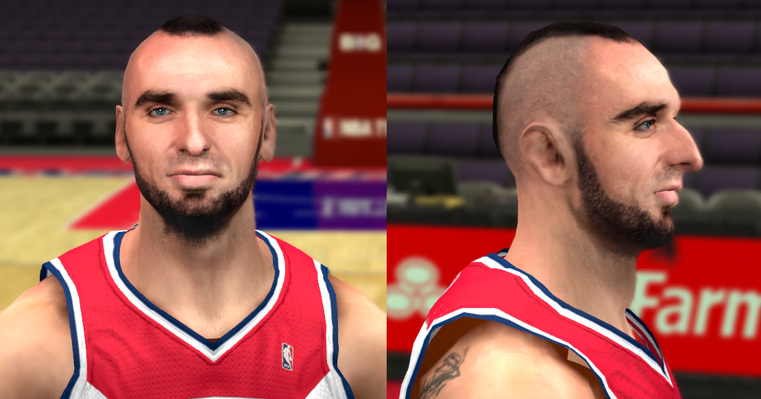Marcin Gortat Cyberface Updated looks for 2k14 - NBA 2K Updates, Roster Update, Cyberface, Etc