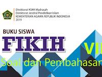 Pembahasan Soal Fikih Semester Genap Kelas VII BAB VII SHALAT FARDHU JAMA' DAN QASHAR KMA 183 Tahun 2019