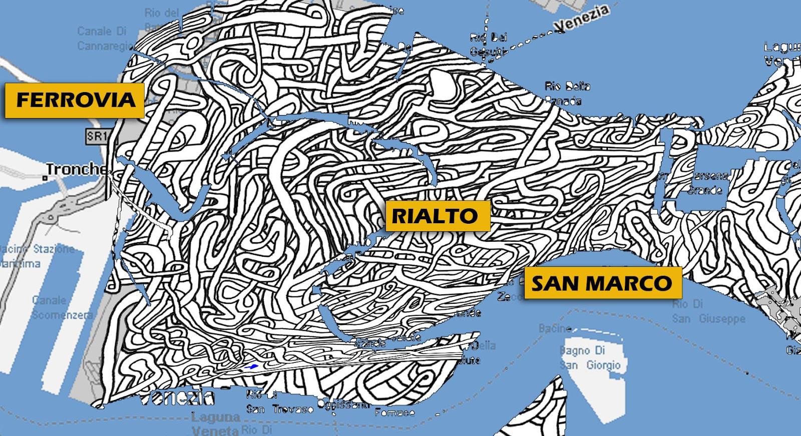 Cartina Venezia Dettagliata.Mi Laboratorio De Ideas Cartina Dettagliata Di Venezia