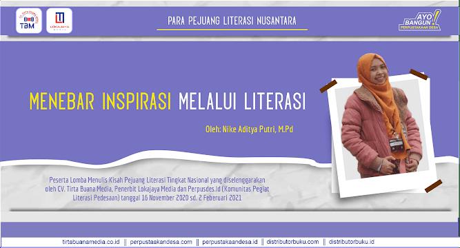Menebar Inspirasi melalui Literasi