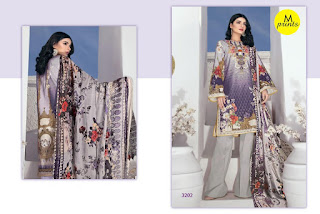 M print vol 3 pakistani Cotton dress Material catalog