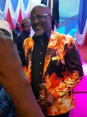Dino Melaye at peace corps award