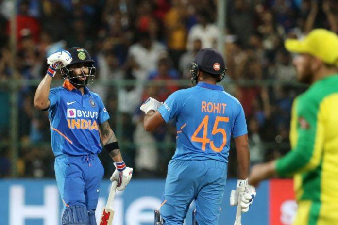 Rohit and Kohli beat Aussie Hunk,www.thekeralatimes.com