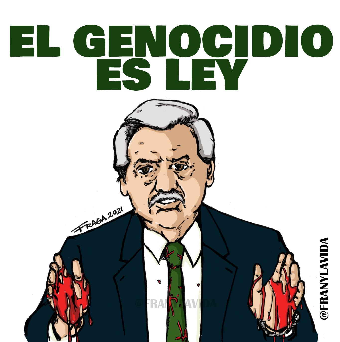 El Genocidio es Ley