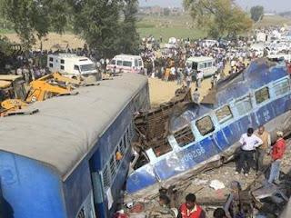 इंदौर-पटना ट्रेन हादसाः इमरजेंसी ब्रेक से हुआ अधिक नुकसान