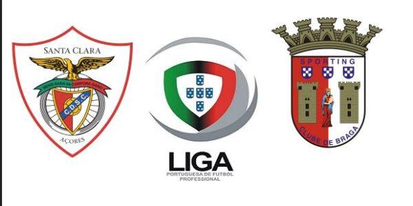 بث مباشر مباراة سبورتينغ براغا وسانتا كلارا اليوم 05-06-2020 الدوري البرتغالي