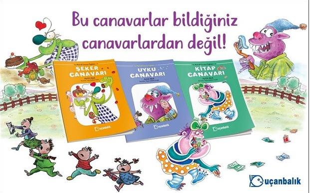 "Aytül Akal'dan ""En Matrak Canavar Öyküleri"""