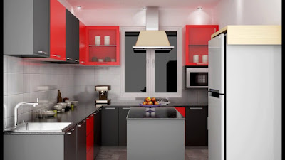 best modern Indian kitchen cabinets colors for homes