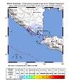 Pusat Gempa di Laut Selatan Pesawaran, Lampung