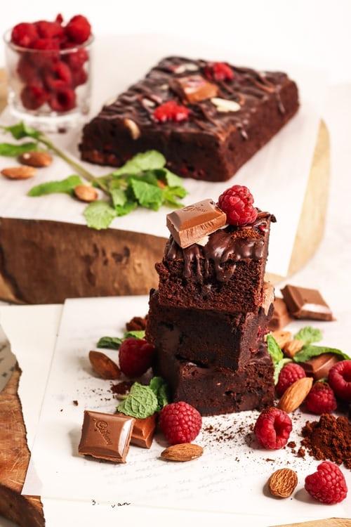 Dark Chocolate Brownie Recipe | At Home